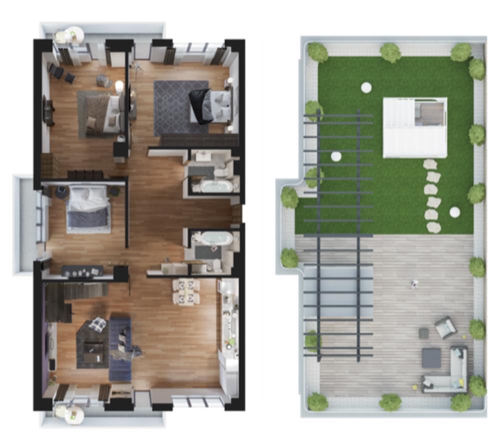 Penthouse deosebit Casa Presei Residence - imagine 3