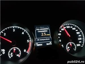 Vw Golf 7 CUP 1.6Tdi Camera,Senzori parcare full,Camera,Faruri Xenon, Full Led Fata/spate - imagine 9