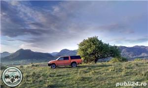 Mitsubishi L200, volan pe stanga,an 2001,2.5 diesel,4x4, bara metalica, inaltat 30mm, gume MT - imagine 1