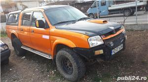Mitsubishi L200, volan pe stanga,an 2001,2.5 diesel,4x4, bara metalica, inaltat 30mm, gume MT - imagine 20
