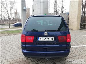 VW Sharan 2007 TDI Euro 4 Parktronic Cauciucuri NOI - 7 locuri Inmatriculat Martie 2019 - imagine 7