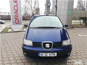 VW Sharan 2007 TDI Euro 4 Parktronic Cauciucuri NOI - 7 locuri Inmatriculat Martie 2019 - imagine 2