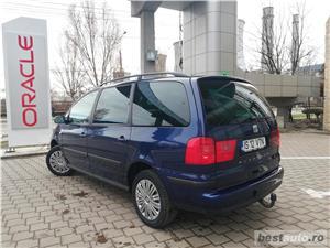 VW Sharan 2007 TDI Euro 4 Parktronic Cauciucuri NOI - 7 locuri Inmatriculat Martie 2019 - imagine 5