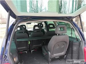 VW Sharan 2007 TDI Euro 4 Parktronic Cauciucuri NOI - 7 locuri Inmatriculat Martie 2019 - imagine 6