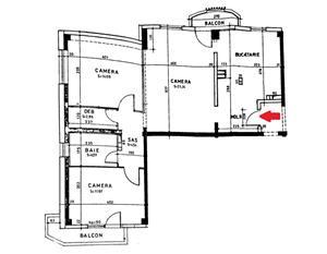 Vanzare apartament 3 camere Aviatiei-Burileanu, 84mp, etaj 3  - imagine 14