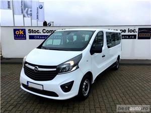 Opel Vivaro 8+1 locuri | L2H1 | 1.6D | AC Fata+Spate | Senzori Parcare | Tempomat | Bluetooth | 2017 - imagine 2