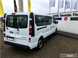 Opel Vivaro 8+1 locuri | L2H1 | 1.6D | AC Fata+Spate | Senzori Parcare | Tempomat | Bluetooth | 2017 - imagine 4