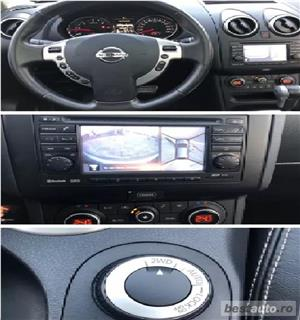 SUV Qashqai+2, 2.0TD,inmatric ro, E5, piele,navigatie,trapa,2012,panoramic - imagine 7