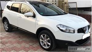 SUV Qashqai+2, 2.0TD,inmatric ro, E5, piele,navigatie,trapa,2012,panoramic - imagine 2