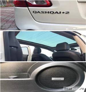 SUV Qashqai+2, 2.0TD,inmatric ro, E5, piele,navigatie,trapa,2012,panoramic - imagine 6