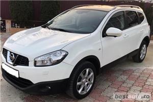 SUV Qashqai+2, 2.0TD,inmatric ro, E5, piele,navigatie,trapa,2012,panoramic - imagine 1