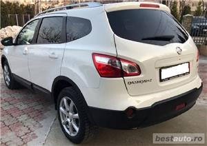 SUV Qashqai+2, 2.0TD,inmatric ro, E5, piele,navigatie,trapa,2012,panoramic - imagine 4
