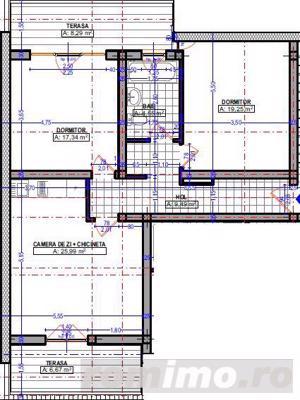 Apartamente noi, Proiect modernist, Zona Buziasului - imagine 5