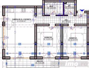 Apartamente noi, Proiect modernist, Zona Buziasului - imagine 2