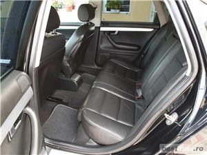 Audi A4,GARANTIE 3 LUNI,AVANS 0,RATE FIXE,motor 2000 TDI,140 CP,Navigatie/GPS,Full piele - imagine 9