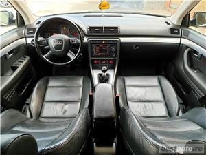 Audi A4,GARANTIE 3 LUNI,AVANS 0,RATE FIXE,motor 2000 TDI,140 CP,Navigatie/GPS,Full piele - imagine 7