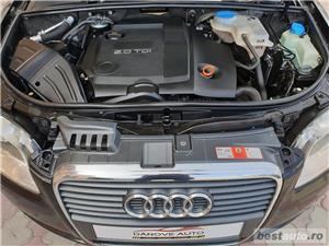 Audi A4,GARANTIE 3 LUNI,AVANS 0,RATE FIXE,motor 2000 TDI,140 CP,Navigatie/GPS,Full piele - imagine 10