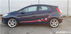 Ford Fiesta 1.5 Tdci Euro 5 km 100% reali +CADOU - imagine 8