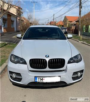 Bmw Seria X6/ 306CP/ xDrive 4.0D/ GRI PERLA - imagine 2