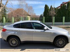 Bmw Seria X6/ 306CP/ xDrive 4.0D/ GRI PERLA - imagine 1
