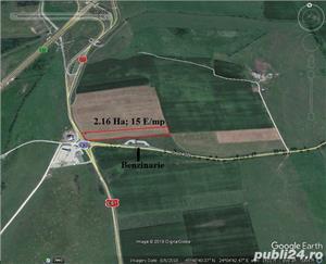 Vand teren arabil 8200 mp. cu deschidere de 23 ml. la str. Salzburg  - imagine 1