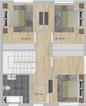 Casa Vila 4 camere incalzirea in pardoseala Comuna Berceni strada Padurea Craiului - imagine 10