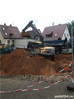 Caut jobb pe excavator sau sofer cat b 3,5t - imagine 1