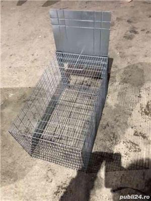 Capcana vulpiță,pisici ,șobolani,dihori,vidre NOU - imagine 3