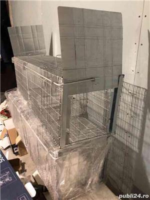 Capcana vulpi cu doua intrari -140 cm NOU - imagine 6