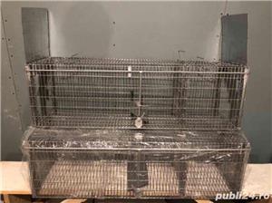 Capcana vulpi cu doua intrari -140 cm NOU - imagine 1