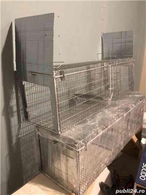 Capcana pisici,dihori,etc cu doua intrari/ 100 cm Conditie:  Produs nou 2019 - imagine 4