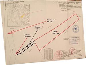 Teren intravilan construibil linga Sinaia 2.801 mp pret afacere - imagine 3