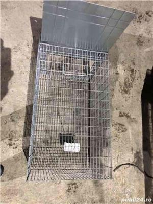 Capcana vulpiță,pisici ,șobolani,dihori,vidre NOU - imagine 5