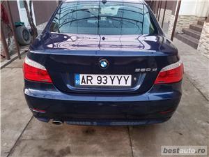 BMW 520d facelift/177cp/automata/joystick/piele/2008 - imagine 7