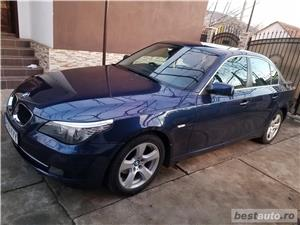 BMW 520d facelift/177cp/automata/joystick/piele/2008 - imagine 5
