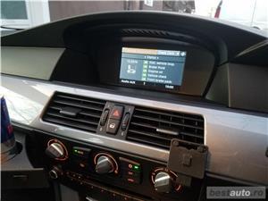 BMW 520d facelift/177cp/automata/joystick/piele/2008 - imagine 15