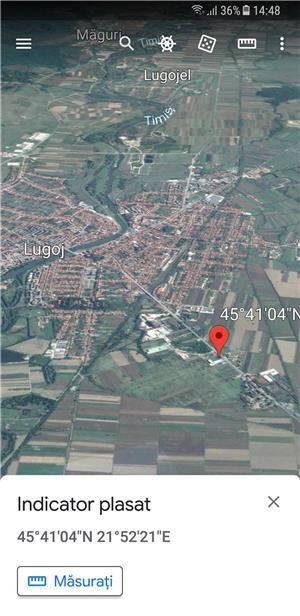 teren  spatii industriale si logistice lugoj - imagine 3