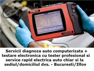 Diagnoza auto testare tester service reparatii electrica cu deplasare la client acasa / la domiciliu - imagine 1