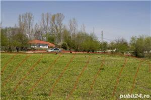 Teren intravilan, ideal pentru constructie casa 2100 mp- Malaiesti, sud - imagine 11