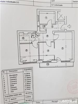 Vand apartament 3 camere rond doamna ghica cu colentina cu loc parcare - imagine 4
