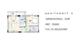 Apartament 2 camere Bragadiru Cristalului capat RATB 302 - imagine 2