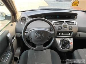 Renault scenic,AVANS 0,RATE FIXE,motor 1900 cmc,Diesel,131 CP,Model 7 locuri - imagine 6