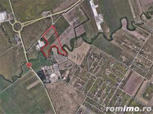 Exclusiv!! Teren cu PUZ industrial de vanzare in zona Aradului - imagine 1