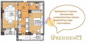 Apartament 2 camere D Lux zona Bucium - imagine 2