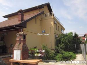 Vila 15 camere, 1330mp curte, piscina,ideal pt. afacere, Rosu-Chiajna - imagine 13