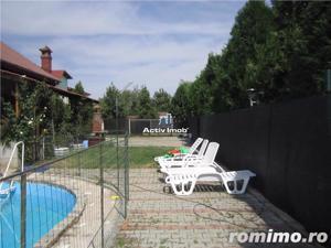 Vila 15 camere, 1330mp curte, piscina,ideal pt. afacere, Rosu-Chiajna - imagine 7