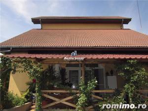 Vila 15 camere, 1330mp curte, piscina,ideal pt. afacere, Rosu-Chiajna - imagine 4