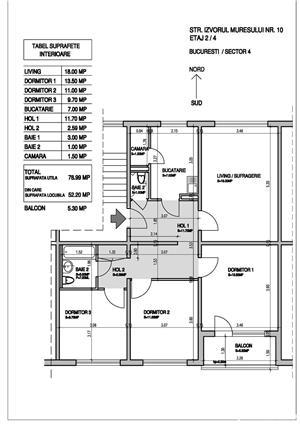 Apartament confortabil, zona linistita, inverzita, multiple facilitati in zona - imagine 3