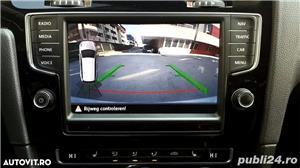 Golf 7 RAR EFECTUAT camera video, trapa panoramica electrica, piele, pornire fara cheie, clima, Led - imagine 4
