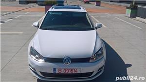 Golf 7 RAR EFECTUAT camera video, trapa panoramica electrica, piele, pornire fara cheie, clima, Led - imagine 8